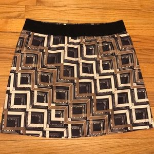 Banana Republic women's mini flare skirt
